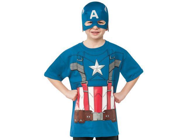 Captain America Retro T Shirt