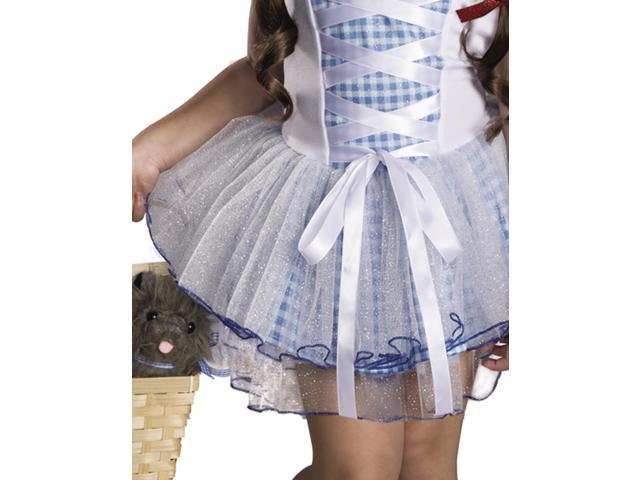 Dorothy Wizard Of OZ Tutu Costume S