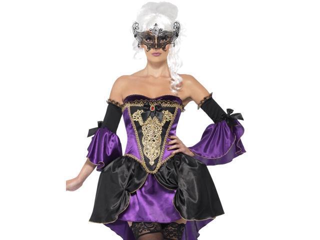 Midnight Purple Masquerade