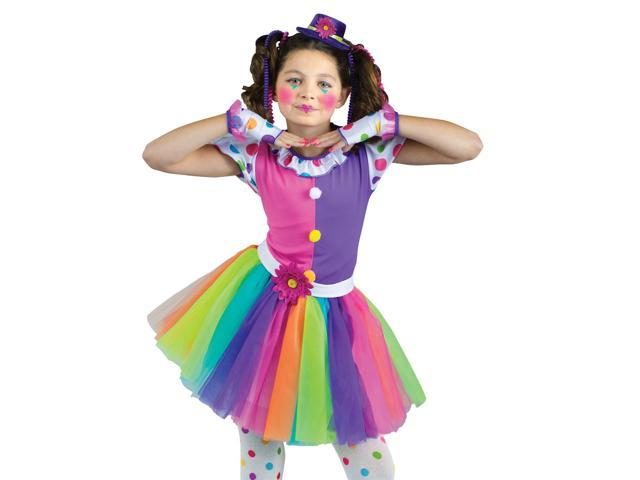 Cute Clownin' Around Tutu Costume