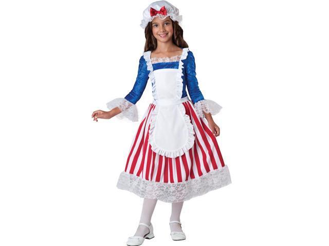 Betsy Ross Patrotic American Costume