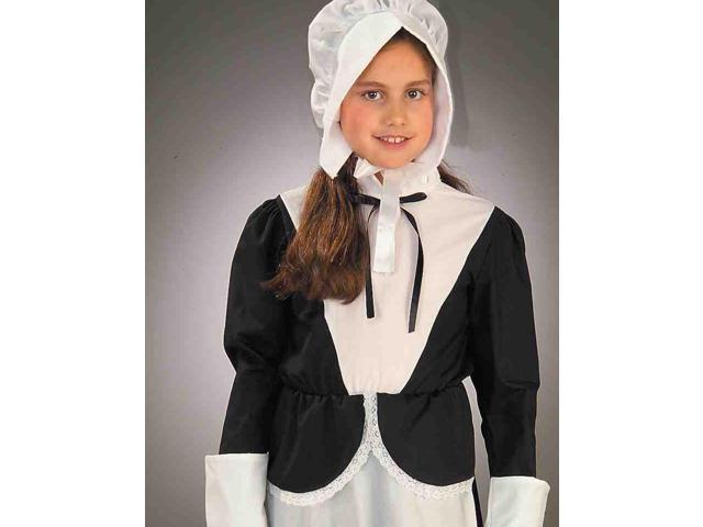 Girl Colonial Pilgrim Costume
