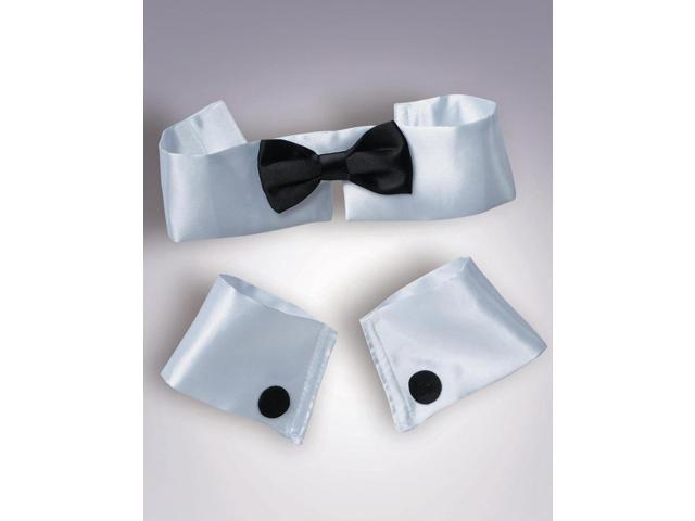 Collar, Tie And Cuff Tuxedo Set