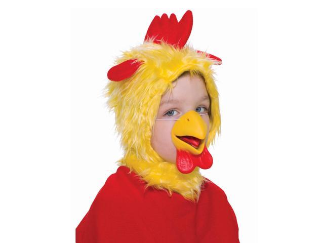 Chicken Hood & Nose Animal Costume Set Child Standard