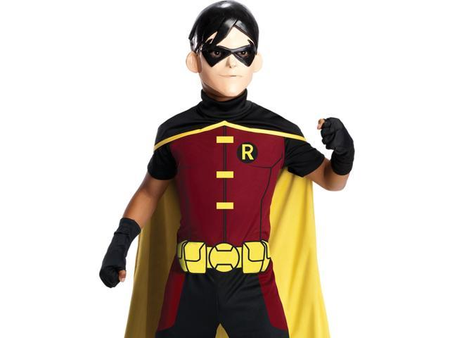 Robin Young Justice Costume for Boys