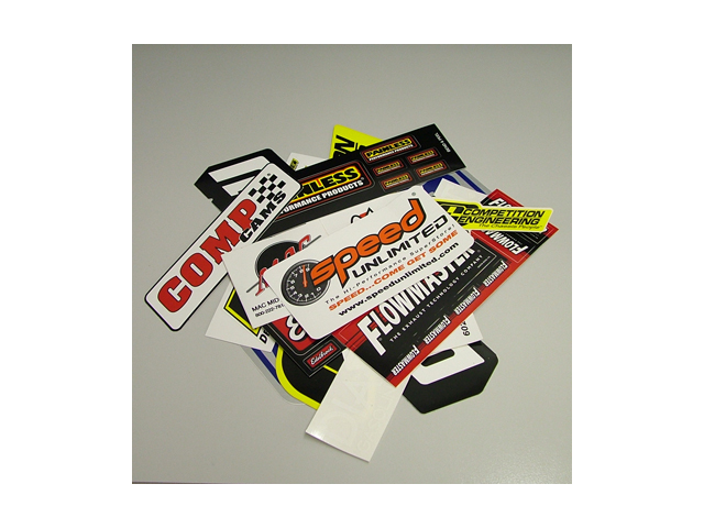 Speed 6000 Racing Decal Sticker Pack 13 Drag Race Automotive
