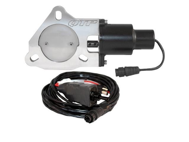 """QTP QTEC30 3"""" Electric Exhaust Cutout Valve"""