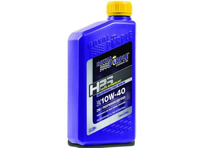Royal Purple 31140 HPS Street Synthetic Motor Oil 10W40 1 Quart