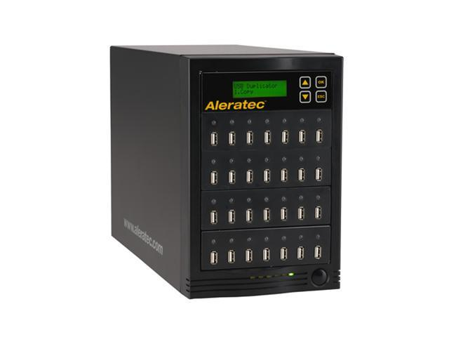 Aleratec Black 1 to 27 1:27 USB Copy Tower SA USB Flash Drive Duplicator Model 330106
