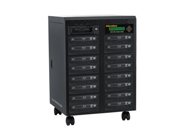 Aleratec Black 1 to 15 1:15 Blu-ray DVD CD Tower Duplicator SA Model 260206