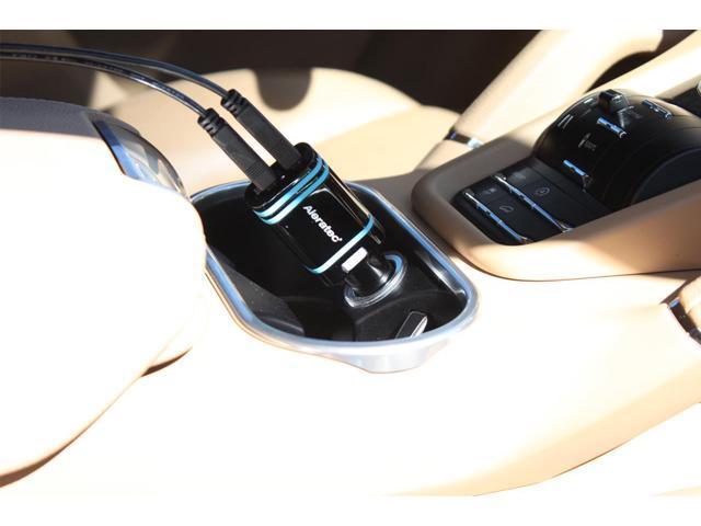 Aleratec Dual 2 Port USB Rapid Car Charger 4.8a (2.4a amps x 2) for iPhone, Smartphones, iPad and Tablets