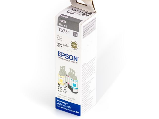 Epson T6731 Black Ink 70ml Bottle For Epson L800 L801 L805 (past Best Before date)