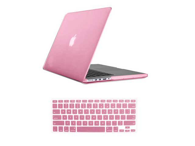 "For Macbook Pro 15.4"" 15"" Retina Rubberized Matte Hard Case Cover Mac A1398 With Keyboard Skin + Screen Protector"