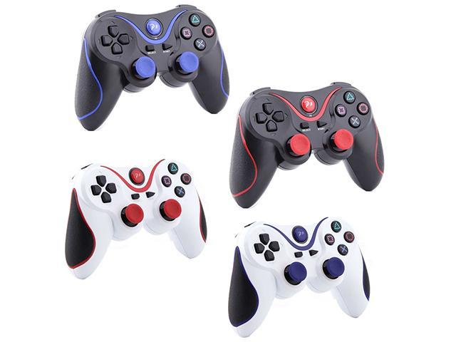 SmackTom 4 In 1 Wireless Bluetooth Game Replacement USB Controller for Sony Playstation 3/PS3