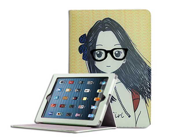 Cover Cases for New Apple iPad Mini - Fashion Magnetic Flip/360 Rotating/Flip Folio/Luxury Leather/Cartoon texture/Crystal ...