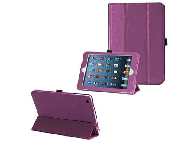 Smart Series Sleep Wake Leather Case Cover  - Folio Flip Stand Magnetic Protector For Apple Mini Cover