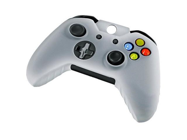 Silicone Case Cover Skin Cap Protector for Microsoft Xbox One Gaming Game Controller - White
