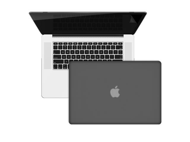 SmackTom Retina_Rubberized Matte Hard Case Cover For Mac Book A1398 With Keyboard Skin + Screen Protector