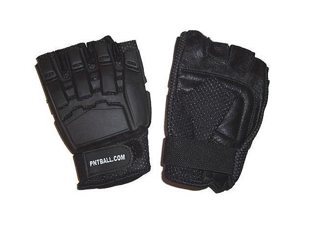 3Skull Half Finger Paintball Gloves - Large