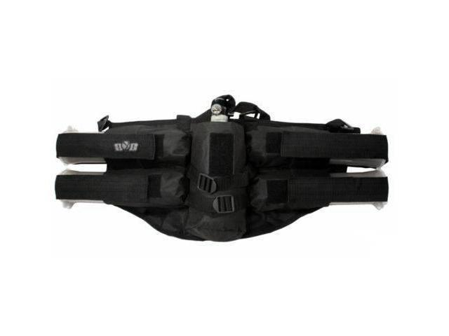 GXG Paintball 4+1 Deluxe Harness Ammo Pack - Black
