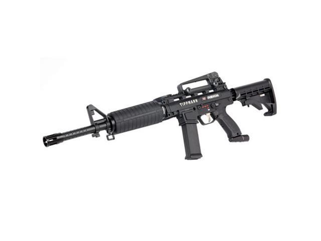Tippmann X7 Phenom Electronic Paintball Marker Gun w/ Assault Carbine Kit