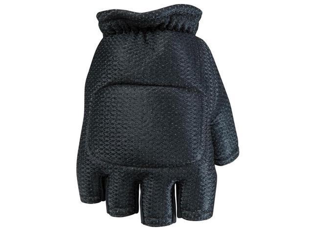 Empire BT Soft Back Fingerless Gloves Black - SM/MD