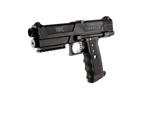 Tippmann TPX Paintball Pistol Gun Market - Black