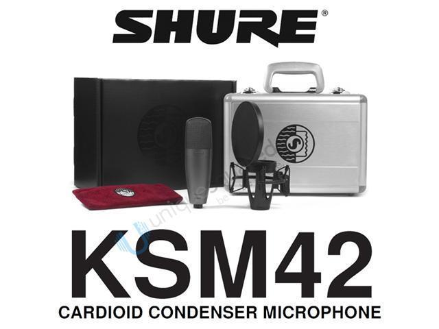 Shure KSM42 Dual-Diaphragm Condenser Vocal Microphone
