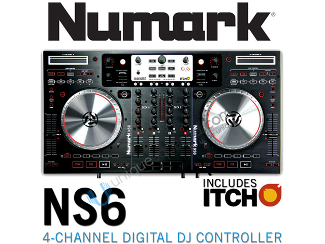 Numark NS6 4-Channel Digital Controller