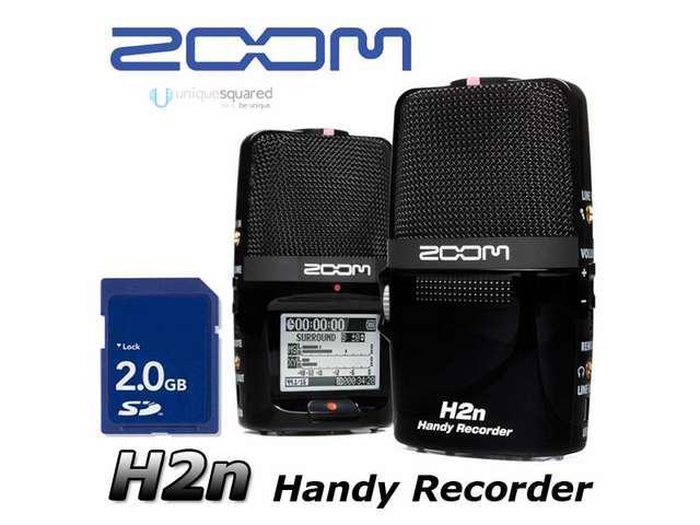 Zoom H2n Handheld Portable Digital Recorder