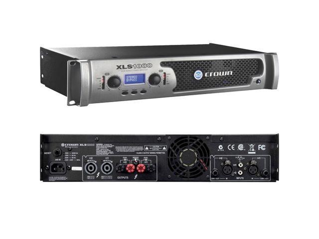 Crown XLS 1000 XLS1000 Stereo Amplifier 1000W