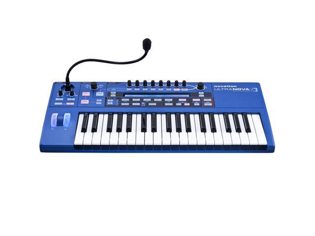 Novation ULTRANOVA 37-key Synthesizer with Vocoder, Microphone, MIDI, and USB