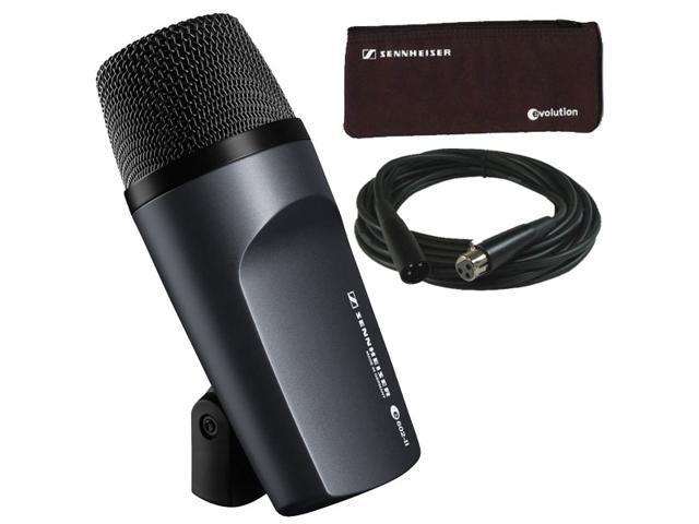 Sennheiser E602II Cardioid Kick Drum Microphone Dynamic Handheld Mic