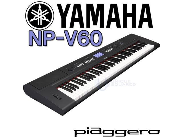 Yamaha NPV60 NP-V60 76-Key Mid-Level Piaggero Ultra-Portable Digital Piano