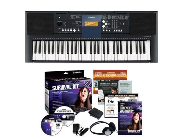 Yamaha PSR-E333 - 61 Key Portable Keyboard Portable Keyboard
