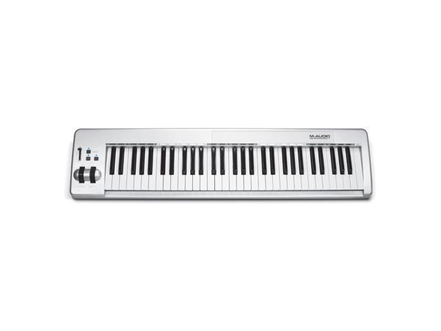 Keystation 61es - 61-Key Semi-Weighted USB MIDI Controller