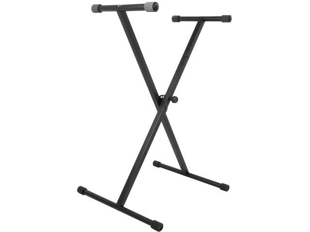 VRT Pro Audio Single Brace Keyboard Stand - X Style Stand