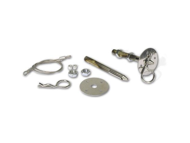 Moroso Performance Chrome Hood Pin Set