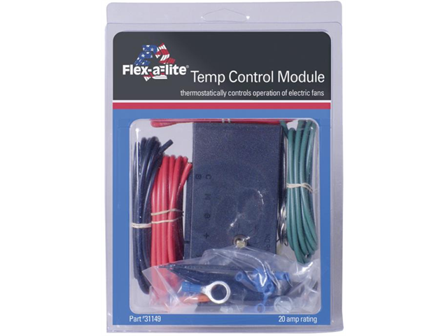 Flex-a-lite 31149 Adjustable temperature control unit with A/C relay and wires