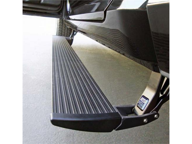 AMP Research 75138-01A Power Step with Light Kit Black