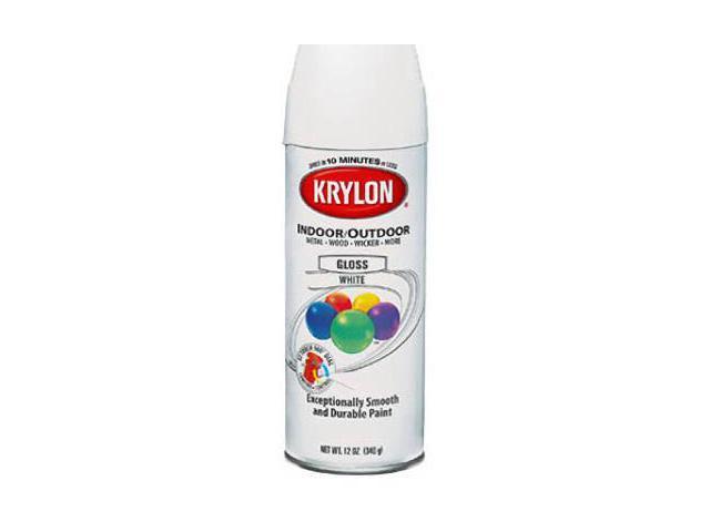 krylon 51602 flat black interior exterior decorator paints newegg. Black Bedroom Furniture Sets. Home Design Ideas