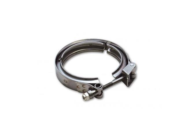 Vibrant 1492C Stainless Steel Quick Release V-Band Clamp for V-Band Flanges with