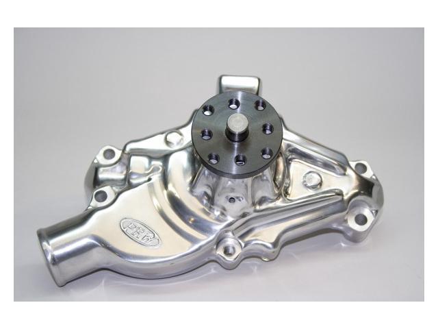 PRW 1435010 Aluminum Hi-Performance Water Pump  Short-Style Polished