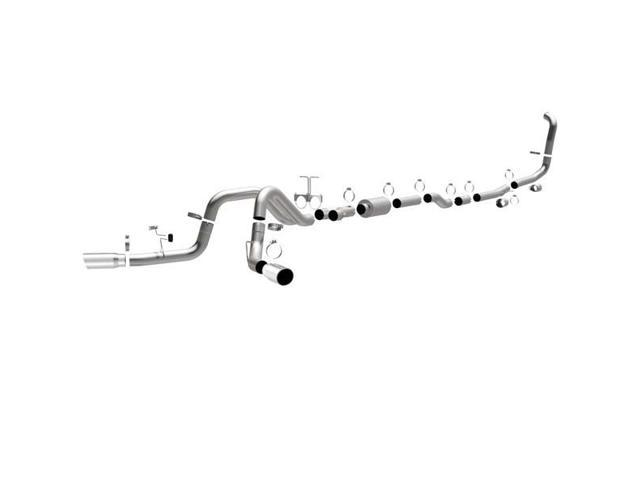 MagnaFlow XL Performance Exhaust Systems - 03-04 Ford Diesel 6.0L Diesel, 4In Dual