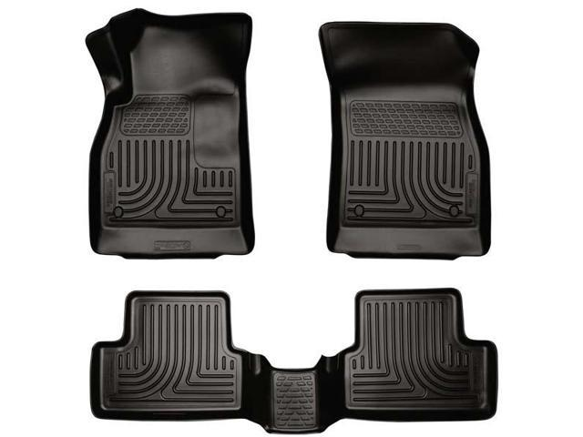 Husky Liners 98161 WeatherBeater Front & 2nd Seat Floor Liners Black