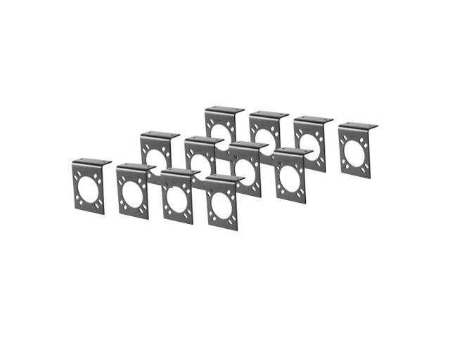 Curt 57205 Heavy Duty Mounting Bracket For 7-Way RV Or Us Car Connectors