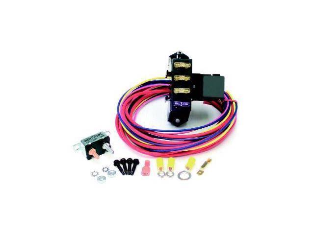 Painless 70203 Cirkit Boss Aux. Fuse Block/3 Circuits w/TXL Wire/Weather