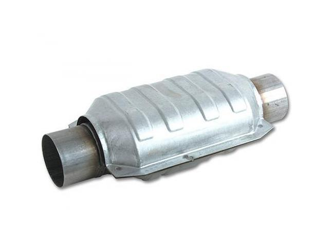 Vibrant 7029 Universal Ceramic Core Catalytic Converter (Oval Body)