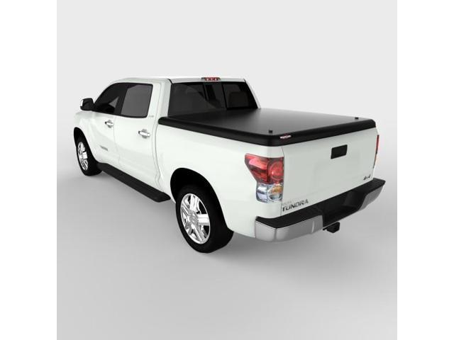 Undercover UC4080 CLASSIC Hinged ABS Tonneau Cover, Toyota Tundra 5.5'; Black