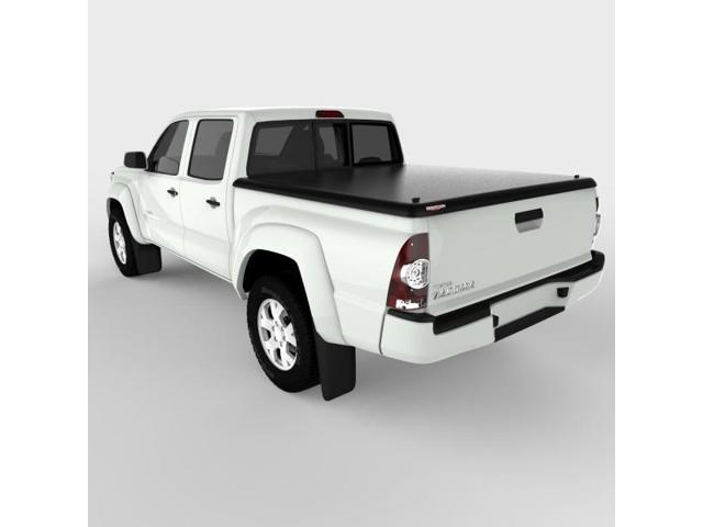 Undercover UC4050 CLASSIC Hinged ABS Tonneau Cover, Toyota Tacoma 5.0'; Black